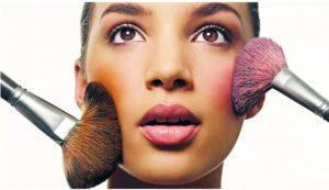 Como aplicar el blush