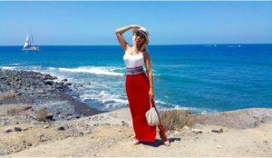 Elecciones de outfits para un día de playa