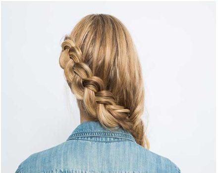 Como hacer peinados con trenzas