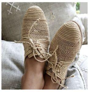 Ventajas de los zapatos tejidos a mano