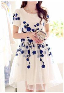 Tendencias con vestidos estampados