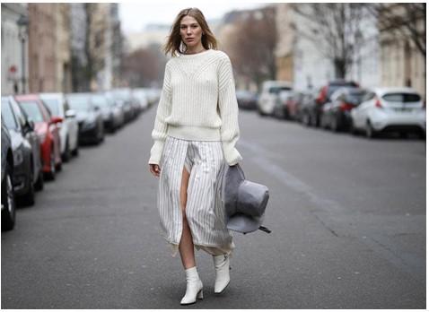 estilos de botas blancas
