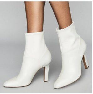 Cómo mantener las botas blancas limpias