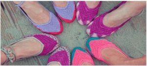 Origenes de los Zapatos de Crochet